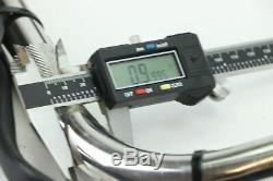 05 Harley Softail CHROME 10 APE HANGER 1 Handlebar Switch Control Cable Set