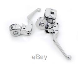 12 Rise Chrome Mayhem Ape Hangers Handlebars Hand Controls Harley Kit Monkey Bar