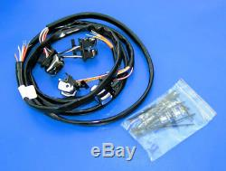 14 Chrome Frisco Ape Hangers Handlebars Hand Control Switches 1.25 Bars Harley