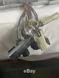 16 Chrome Apehanger Handlebars 2008 Road King Prewired TBW Hand Controls 1.25