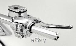 16 Frisco Ape Hangers Handlebars Hand Controls Switches Fat 1-1/4 Bars Harley