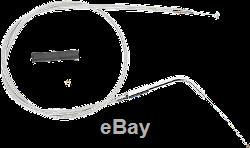 16 x 1.25 Ape Hanger Chrome Handlebar Control Kit 96 99 Harley Softail Custom