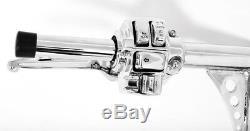18 Chrome Ape Hangers Handlebars 1-14 Cruise Control Harley Glide Bagger 96-12