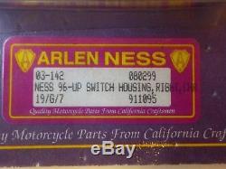1996 + Harley ARLEN NESS TOURING DYNA Chrome Handlebar HOUSING Control Kit 3/4