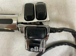 2006 Harley Flh Electra Glide Chrome Rt Lt Hand Controls Switch Housing Cables