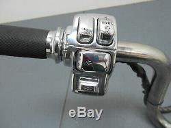 #3133 2012 09 to 13 Harley Davidson Street Glide Handle Bar / Chrome Controls