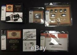 70425-08 Harley -2008-later Flhr Flhrs Chrome Handlebar Controls Kit Nos Parts