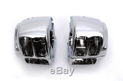 8 Rise 1-1/4 Fat Chrome Rsd Drag Handlebars Hand Controls Switches Bars Harley