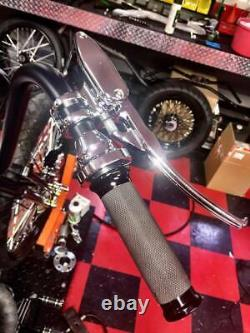 ACCESSORIESHD Stealth 11/16 Handlebar Controls CHROME Harley Chopper Bobber