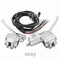 Biker's Choice Handlebar Control Kit With Switches'72-81 Flh/fx 26-098