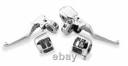 Biker's Choice Handlebar Control Kits Chrome Without Switches 26-045