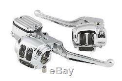 Biker's Choice Handlebar Control Kits Chrome Without Switches 26-068