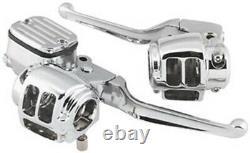 Bikers Choice 26-067 Handlebar Control Kit (Chrome) 1996-2003 Harley Sportster