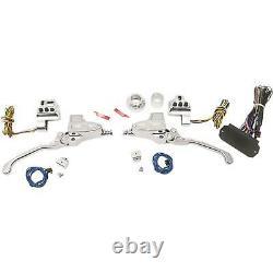Chrome 11/16 Master Cylinder Hydraulic Handlebar Controls 0062-4026-ch