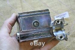 Chrome 5/8 master cylinder handlebar controls Harley FXR XL FXD Softail EP23207