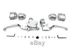 Chrome Handlebar Control Kit fits Harley Davidson, V-Twin 22-0877