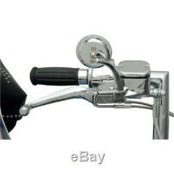 Chrome Handlebar Hand Control Mechanical Clutch Kit Harley Softail Dyna 11-15