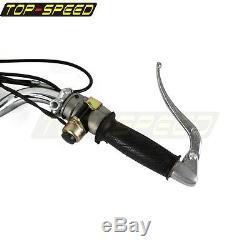 Chrome Handlebar Hand Lever Grip Control Assembly KitFor BMW Ural Dnepr K750 R75
