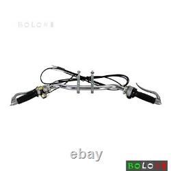 Chrome Handlebar Hand Lever Grip Control Kit For BMW R1 R71 R75 M72 Ural Dnepr