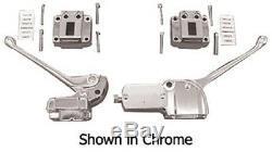 Chrome Handlebar controls with wires Shovelhead FL 72-81 Sportster FX FL 73-81