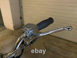 Custom CHROME HANDLEBAR CONTROL KITCHROME HANDLEBAR CONTROL KIT Harley Ironhead