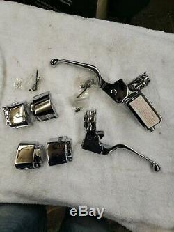 Custom Chrome Handlebar Control Kit. Harley-Davidson 1984-95, w 9/16 Bore