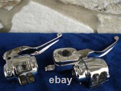 Dot 5 Handlebar Control Kit Harley Dual Rotor Models 2000-06