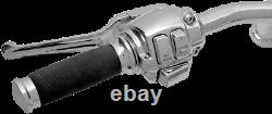 Drag Specialties 0610-0531 Chrome Handlebar Control Kit with Mechanical Clutch