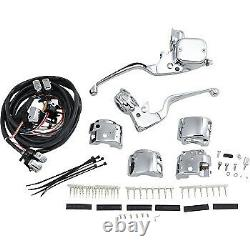 Drag Specialties 11/16 Master Cylinder Handlebar Controls for'96-'13 0610-0529