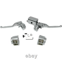 Drag Specialties 5/8 Master Cylinder Handlebar Controls 07-542NU