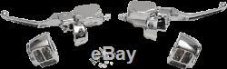Drag Specialties Chrome Handlebar Control Kit with Hydraulic Clutch 0610-0693