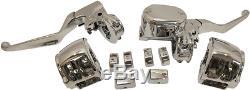 Drag Specialties Chrome handlebar control ABS kit 14-18 Harley Sportster XL 1200