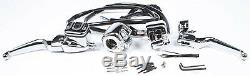 HARDDRIVE 9/16 Handlebar Controls Chrome with Switches 26-129