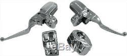 HARDDRIVE Hydraulic Clutch HANDLEBAR CONTROLS (Chrome) 0136 0137 820-55000