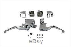 Handlebar Control Kit Chrome 1/2 bore fits Harley Davidson sportster 22-0825