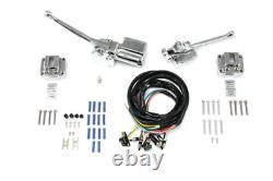Handlebar Control Kit Chrome Fl 1972/1981 Fx 1972/1981 Xl 1972/1981