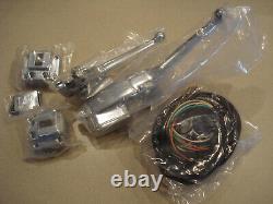 Handlebar Control Kit Chrome with Switches Harley Davidson FX FL XL 1972-81 New