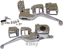 Handlebar Control Kit / Most Single Brake Dot 4 Harley Davidson Models 1996-ltr