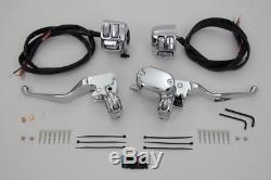 Handlebar Control Kit With Switches Chrome XL 2007/2013