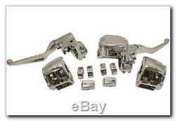 Handlebar control kit (chrome) HARLEY DAVIDSON ABS SOFTAIL FAT BOY FLSTFB