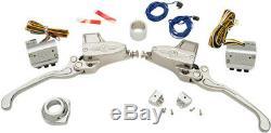 Handlebar control kits hydraulic chrome HARLEY DAVIDSON SOFTAIL DYNA SPORTS
