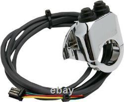 Handlebar mounted control withdeutsch connector chrome HARLEY DAVIDSON GLIDE