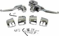 HardDrive 26-094 Handlebar Controls without Switches, 11/16in. Chrome