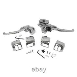 HardDrive 26-095 Handlebar Controls without Switches, 9/16in. Chrome