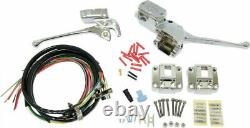 HardDrive 26-097 Complete Handlebar Control Kit, Chrome Switches