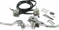HardDrive 96-06 Hand Controls Chrome Handlebar Controls withSwitches 11/16