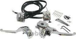 HardDrive 96-06 Hand Controls Chrome Handlebar Controls withSwitches 11/16 26-128