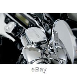 Harley-Davidson 08-13 FLH FLT Chrome Handlebar Control Kit with 15mm Bore