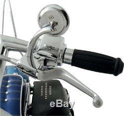 Harley-Davidson 11-14 ST FX Chrome Handlebar Control Kit with Mechanical Clutch
