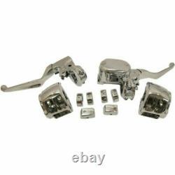 Harley-Davidson 14-18 XL 883 1200 Chrome ABS Handlebar Control Kit